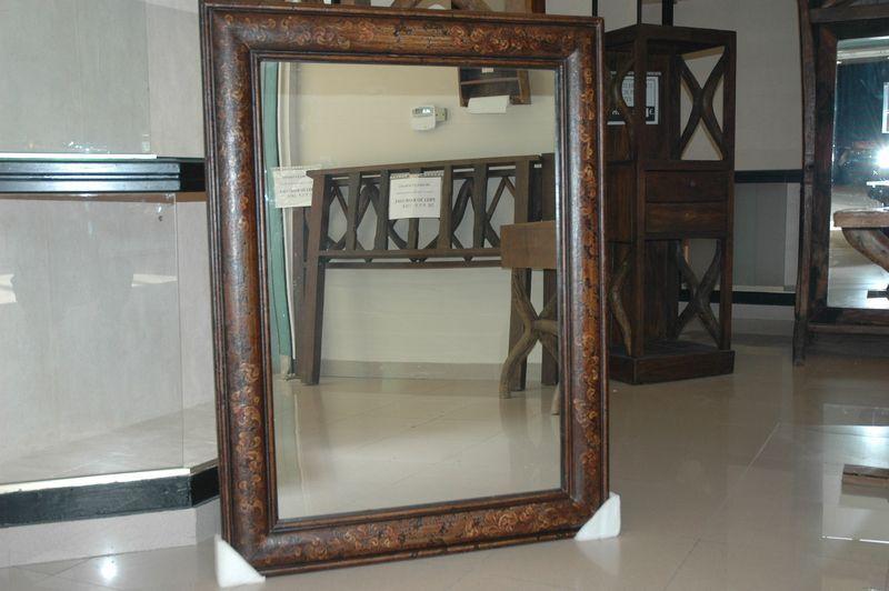 lote de espejos con marco de madera dif medidas decoracin